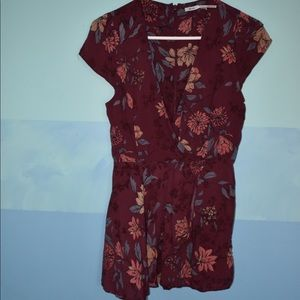 Urban Outfitters Kimchi Blue Floral Romper